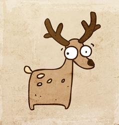 Reindeer Cartoon vector image