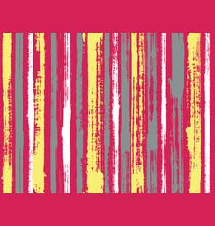 uneven ink hatch vertical lines textile pattern vector image