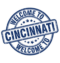 Welcome to cincinnati vector