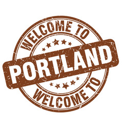Welcome to portland vector