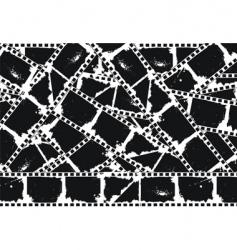 filmstrips background vector image vector image