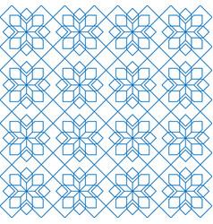 arabic geometric seamless pattern vector image