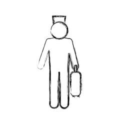 Bell boy pictogram vector