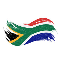 national flag of south africa designed using vector image