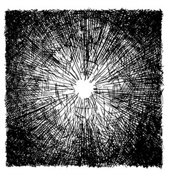 rough hatching grunge texture vector image