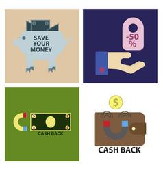 Set of sale banner template design big sale vector
