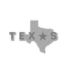 Texas state logo emblem t-shirt design vector
