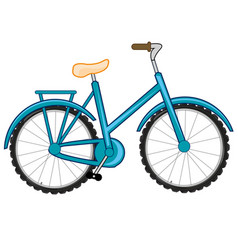 transport facility bicycle vector image