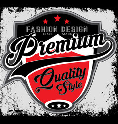 fashion design company typography t-shirt graphics vector image vector image
