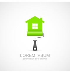 House renovation icon vector image vector image