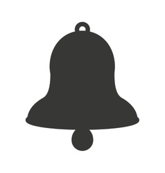 Bell cow isolated icon design vector