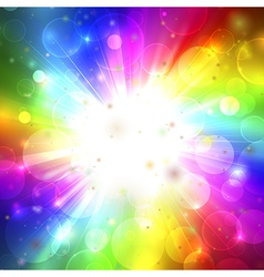 Colorfull phantasmagoria vector image