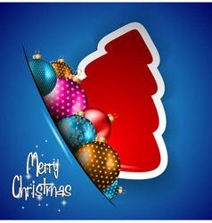 Elegant Classic Christmas flyer vector