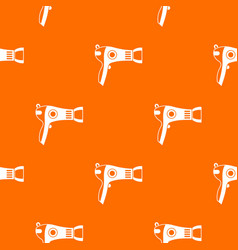 Hairdryer pattern seamless vector