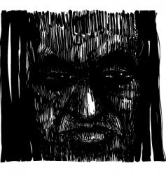 voodoo sorcerer vector image