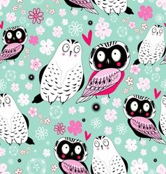 stok vektor fabulous owlss vector image vector image