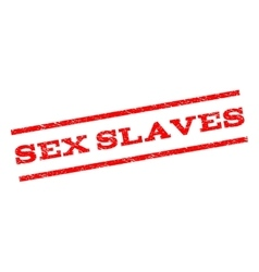 Sex slaves watermark stamp vector