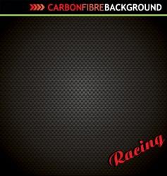 carbon fibre background vector image vector image