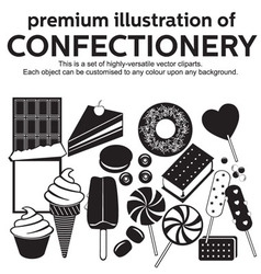 Confectionery vector image vector image