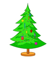furtree christmas vector image