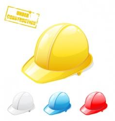 Hard hat vector