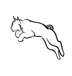 Logo lynx vector