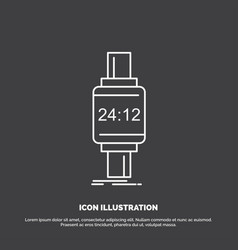 Smart watch smartwatch watch apple android icon vector