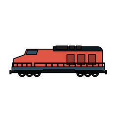 Train icon image vector
