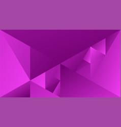 Violet geometric gradient triangle mosaic desktop vector