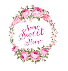 blossom invitation card vector image vector image