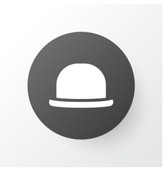 fedora icon symbol premium quality isolated vector image vector image