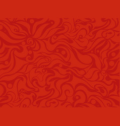 abstract seamless red background vector image