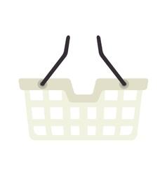 Basket shopping shop buy handle buyer icon vector