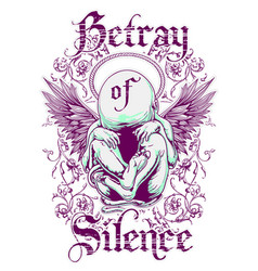 Betrayal silence vector