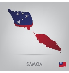 Country samoa vector