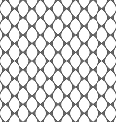 Geometric monochrome simple seamless pattern vector image