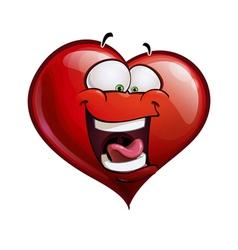 Heart Faces Happy Emoticons LOL vector