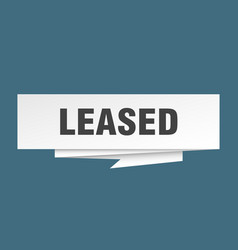 Leased vector