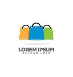 Mart logo shopping store logo design template vector