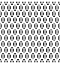 Oval geometric seamless pattern 7209 vector image