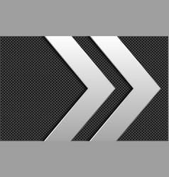Silver double arrow direction grey circle mesh vector