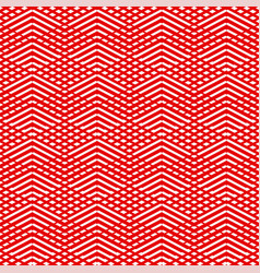 tile red and white pattern or background vector image