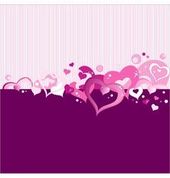 Valentine card 36 vector image