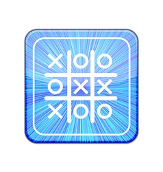 Version Tic tac toe icon Eps 10 vector