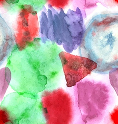Abstract watercolor art hand paint seamless vector image vector image