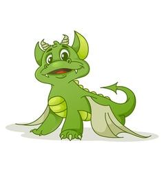 Small dragon vector image vector image
