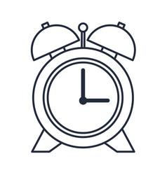 Alarm clock school time hour image vector