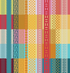 Colors and lines wallpaper vector image