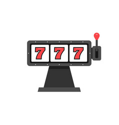777 slot machine vector
