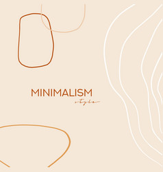 Abstract background geometric doodle abstract line vector